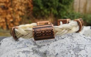 armbandje van paardenhaar 1