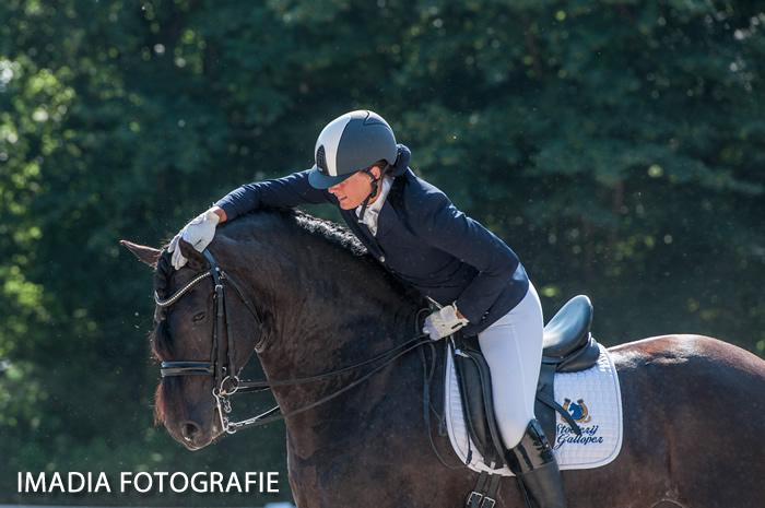 Debby de Graaf met Siebo galloper v fede 350