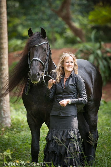 Jenny Rencken and Tsjabring in Durban