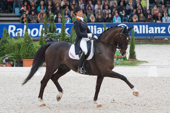 Anky van Grunsven met Salinero