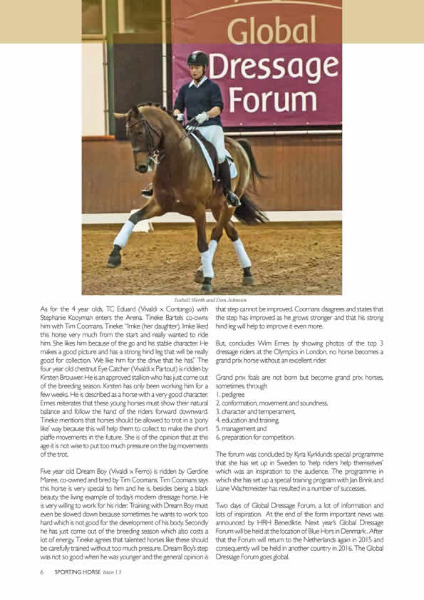 World Dressage Forum